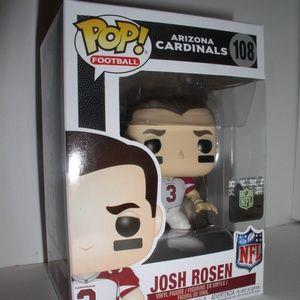Funko Pop Football-Cardinals-Josh Rosen (NEW,#108)